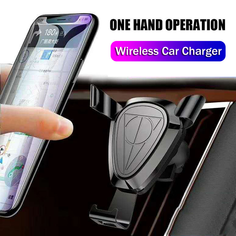 Mayround 5W Automatic Clamping Fast Wireless Car Charger