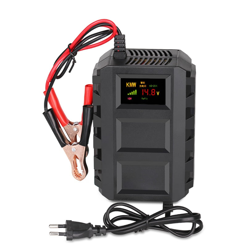 12V 10A Motor Auto Motorcycle Car Smart Battery Charger