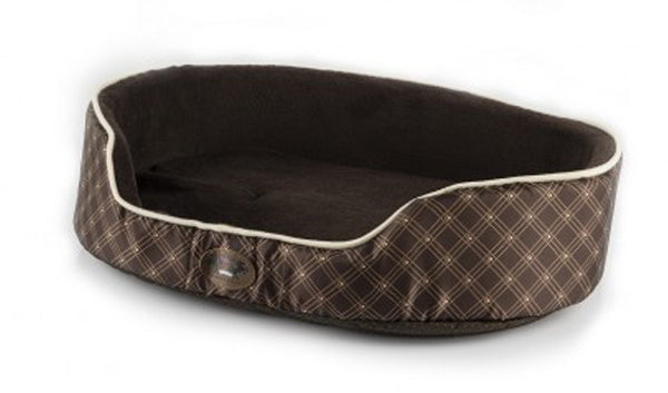 Pets Love Earth Oval Pet Bed