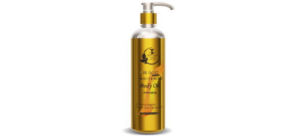 24K Gold Body Whitening Oil