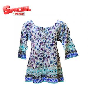 65% Off Floral Printed Women Kurti