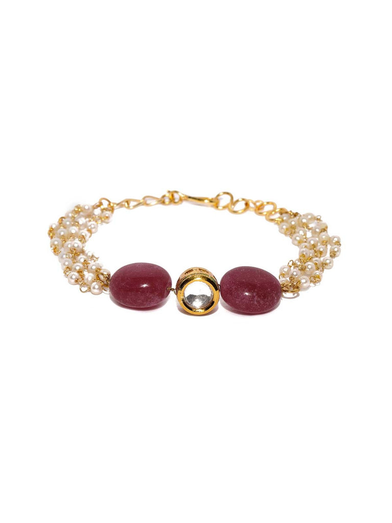 Red Orbit Bracelet