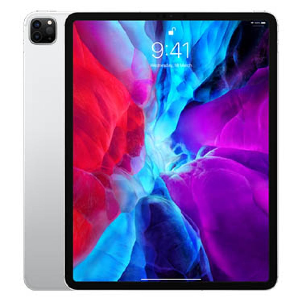 Apple iPad Pro 12.9 inch (2020) 512GB Wi-Fi + Cellular Silver with FaceTime