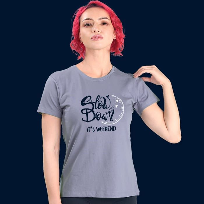 Weekend Women'S Printed T Shirts