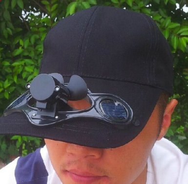 Fashion Solar Power Hat Cap With Cooling Fan Sunhat for Outdoor Golf Baseball Cycling Hiking !!