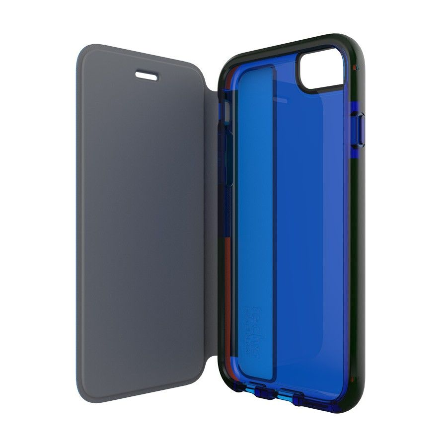 Tech21 D3O Impactology Classic Shell With Cover for iPhone 6/6s/7/8 - Blue