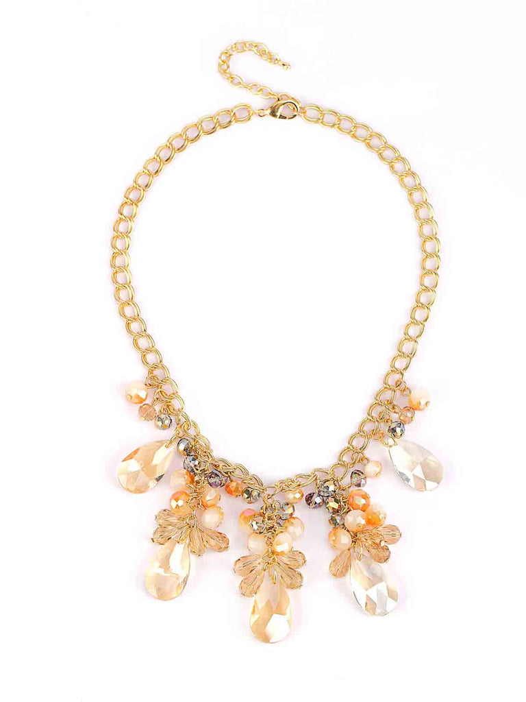The Ballet Dancer Peach Necklace