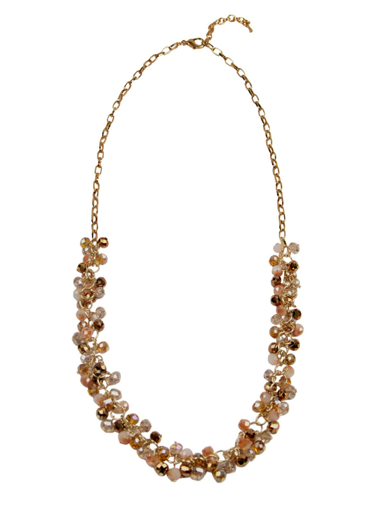 The Flapper Champagne Necklace
