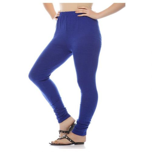 Blue Women Woolen Legging