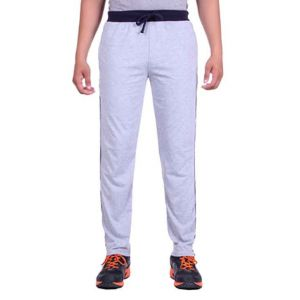 Gray Cotton Trackpant
