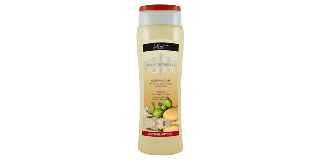 Creamy Shower Gel With Argan Oil And Ceramide Complex (400 ml)