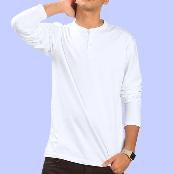 White Full Sleeve T-shirt