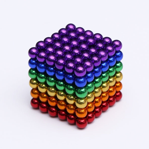 wholesale Magnet Metal Balls 5mm 216pcs/set Magnetic stick Building Blocks Construction Designer Creative Educational Toys Kids