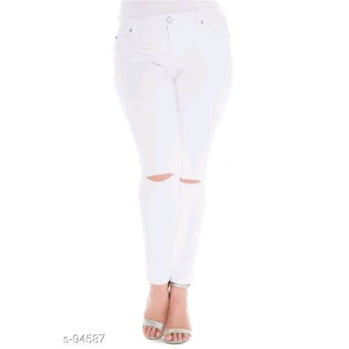 Seasons White Women's Hot Denim Jeans