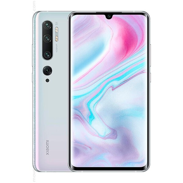 Mi Note 10 -  128GB, 6GB RAM Glacier White