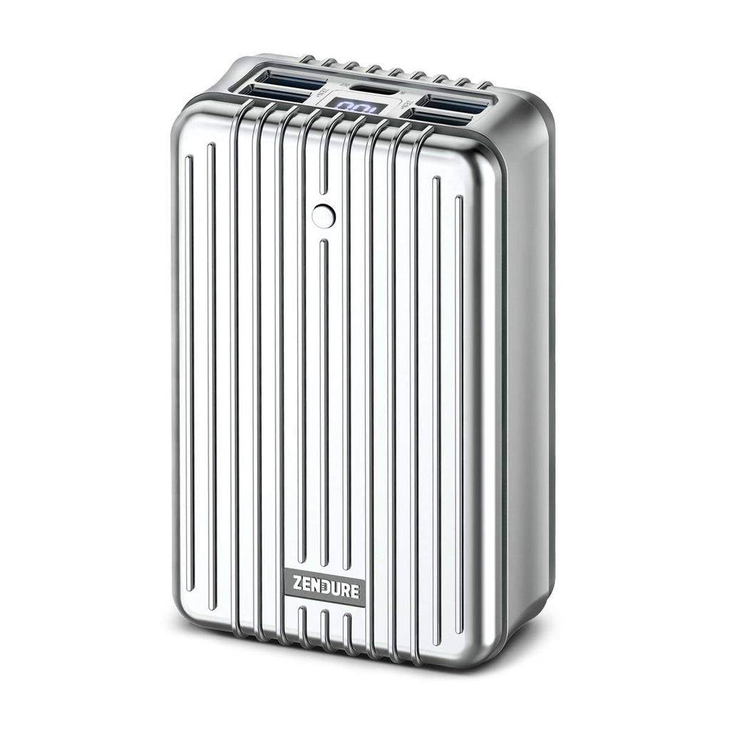 Zendure A8 PD Portable Charger With USB-C Input/Output 26,800mAh - Silver