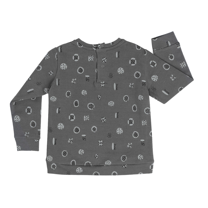 Sudadera Pieces Gris
