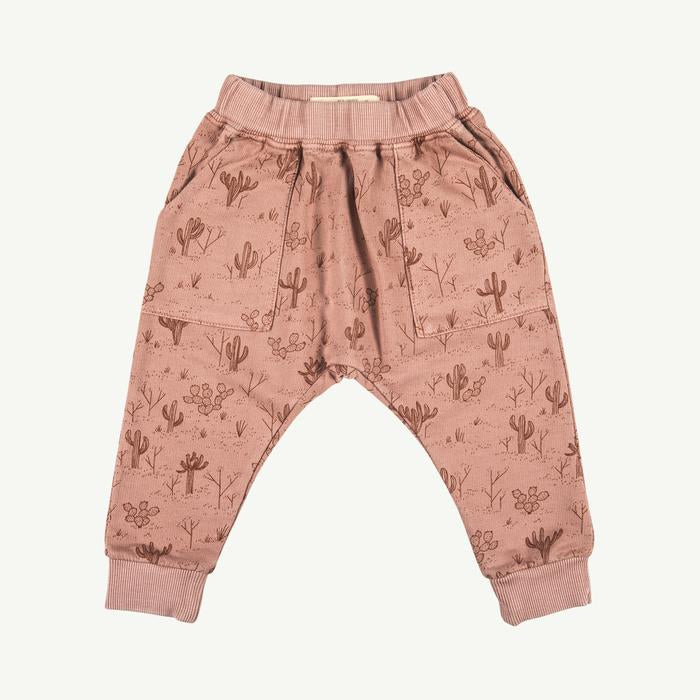 Pantalón rose dawn french terry jogger