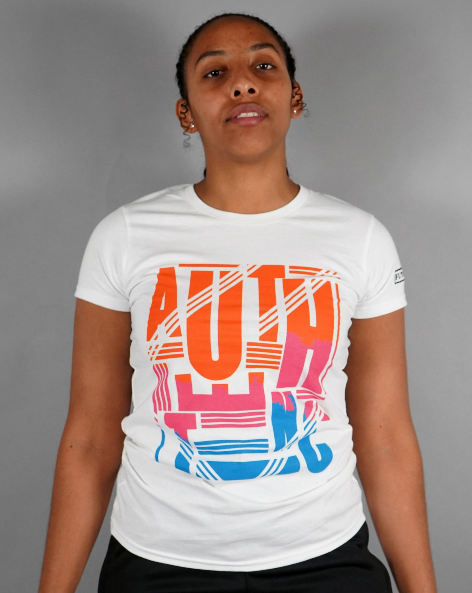 Authentic - Womens White T-shirt