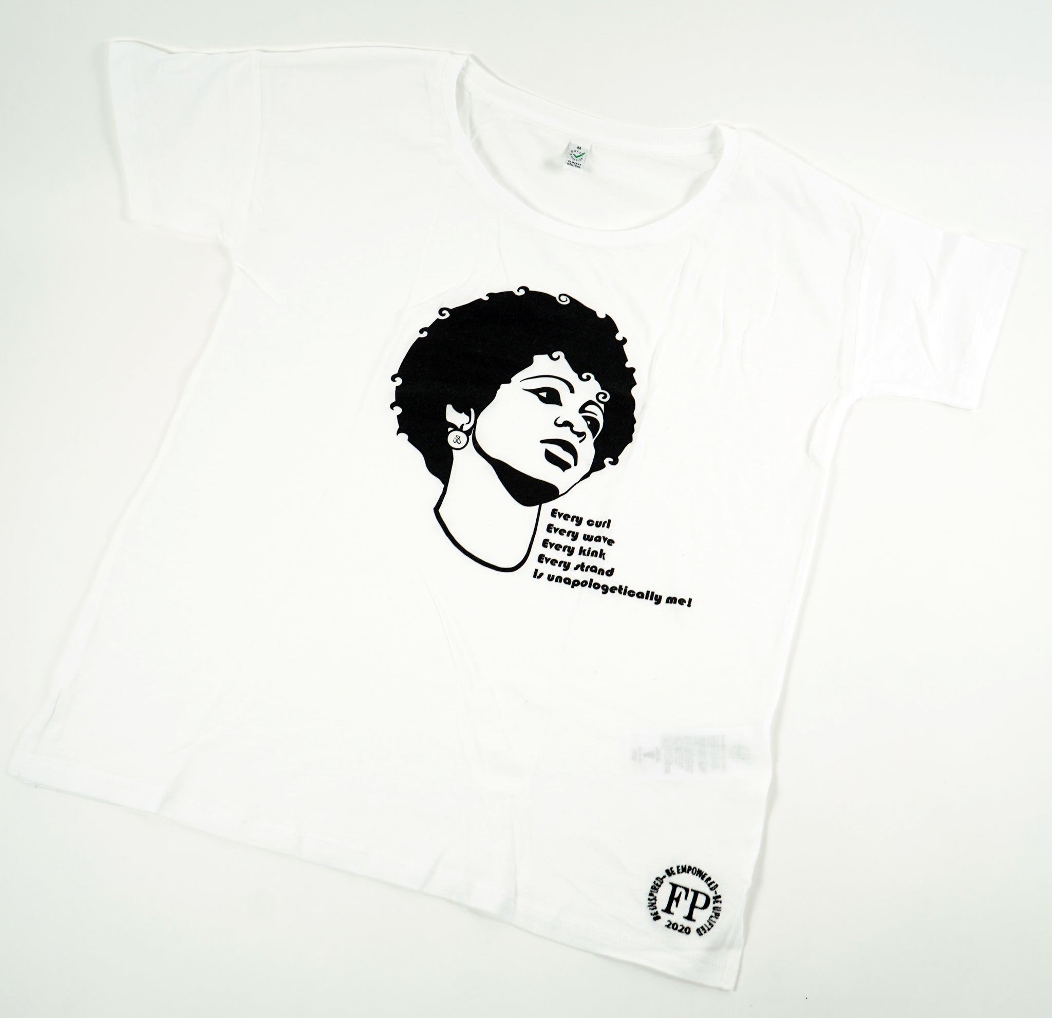Unapologetic Afro - Oversized Womens T-shirt