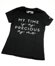 Load image into Gallery viewer, Precious - Womens Black T-Shirt