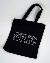 Load image into Gallery viewer, Standardly Unique Tote Bag - Black