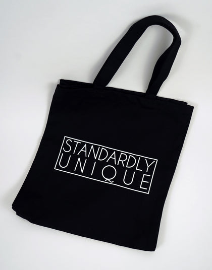 Standardly Unique Tote Bag - Black