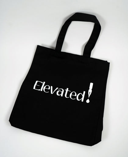 Elevated Tote Bag - Black