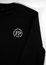 Load image into Gallery viewer, Future Poet - Unisex Black Classic Sweatshirt