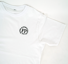 Load image into Gallery viewer, Future Poet - Unisex White Classic Cut T-Shirt