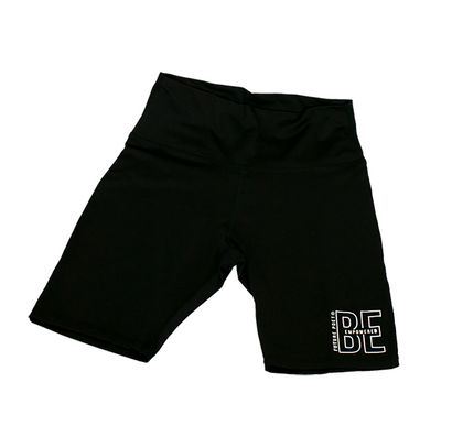 Be Empowered - Women Black Cycling Shorts