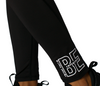 Be Empowered - Womens Black Leggings