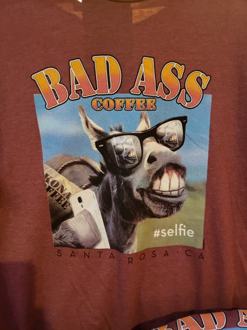 Bad Ass #Selfie T-Shirt
