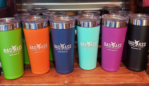 New Bad Ass 20 oz Tumbler