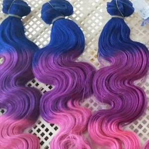 Custom Colored Bundles & Make A Wig Fee