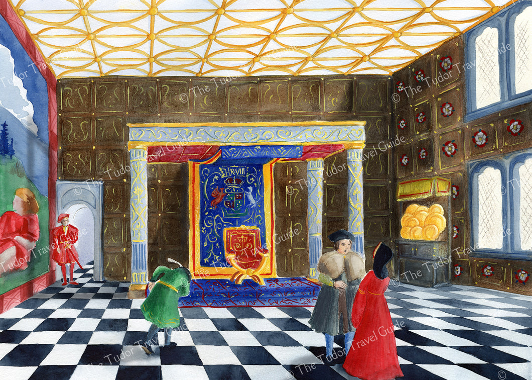 Art Print of Henry VIII's Presence Chamber at Greenwich Palace