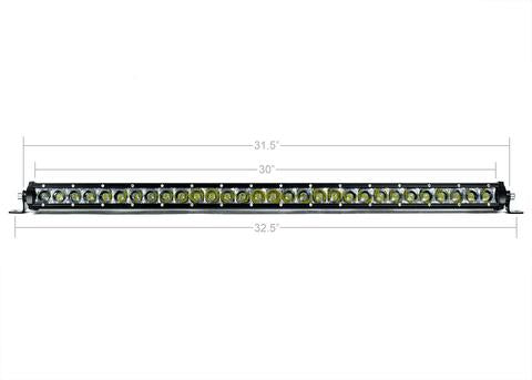 "CALI RAISED LED | 32"" SLIM SINGLE ROW LED BAR"