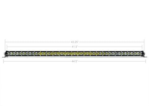"CALI RAISED LED | 42"" SLIM SINGLE ROW LED BAR"