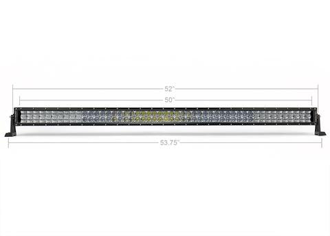 "CALI RAISED LED | 52"" CURVED DUAL ROW 5D OPTIC OSRAM LED BAR"