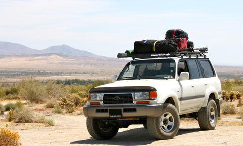 "BajaRack | Land Cruiser 80 UTility, flat Rack, Small (51""W) (1990-1997)"