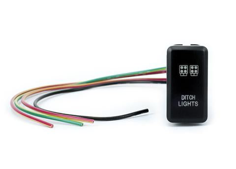 CALI RAISED LED | TOYOTA LED DITCH LIGHT SWITCH
