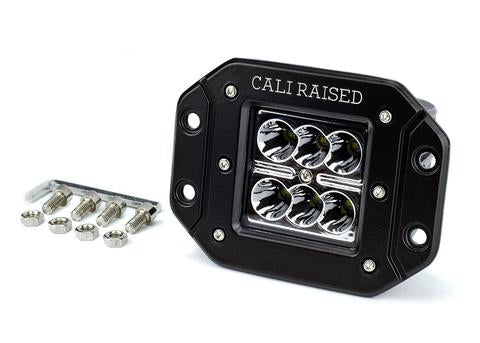 CALI RAISED LED | 3X2 18W FLUSH MOUNT POD