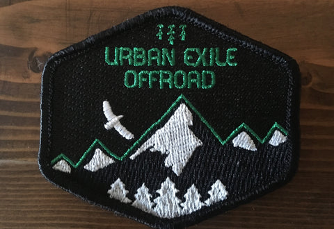 URBAN EXILE OFFROAD | Embroidered Patch