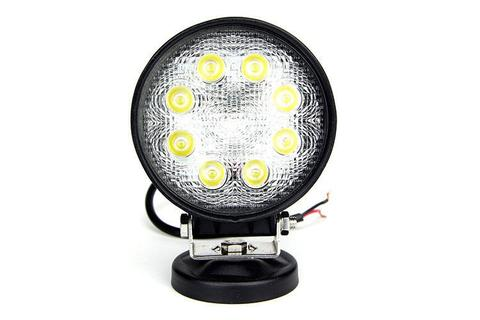 CALI RAISED LED | 27W ROUND LED WORK LIGHT