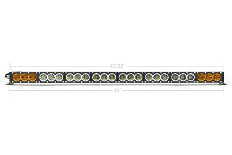 "CALI RAISED LED | 43"" AMBER/WHITE DUAL FUNCTION LED BAR"