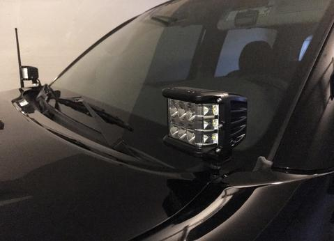 CALI RAISED LED | 2014-2020 TOYOTA TUNDRA LOW PROFILE DITCH LIGHT BRACKETS
