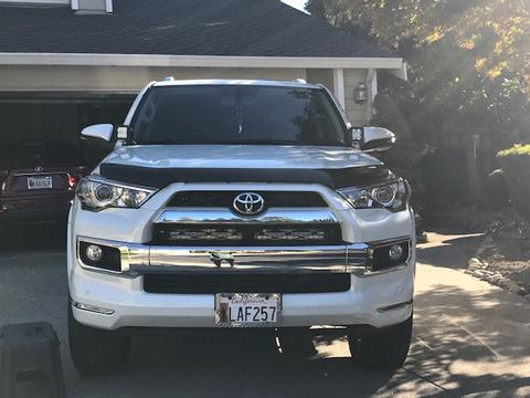 "CALI RAISED LED | 2014-2020 TOYOTA 4RUNNER LIMITED 32"" LED LIGHT BAR BRACKETS"