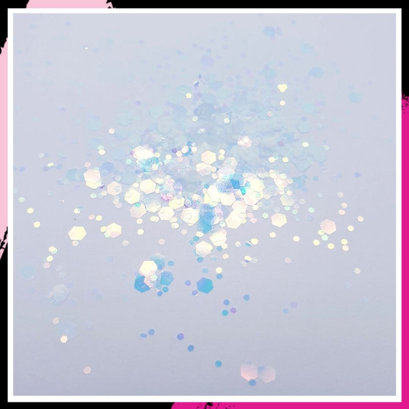 Antique White EnviroGlitter - mixed