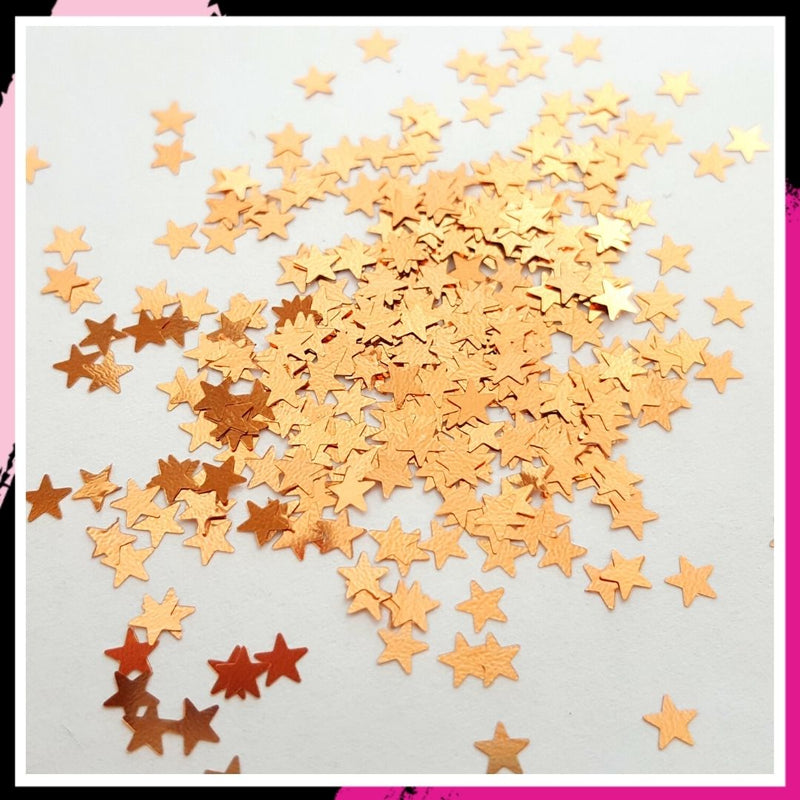 Light Copper- 3mm stars