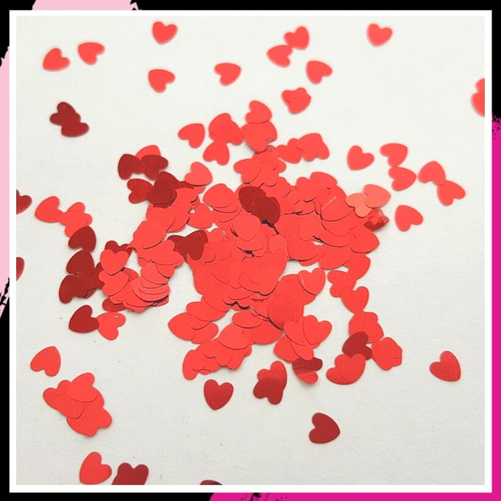 Red Hot - 3mm hearts